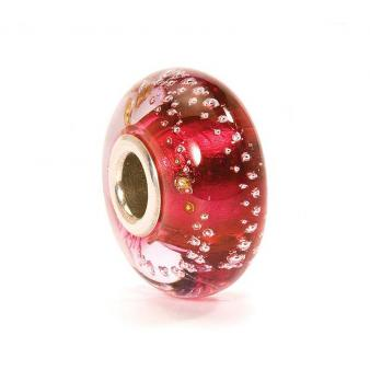 TROLLBEADS Silberne Spur,Pink TGLBE-10240
