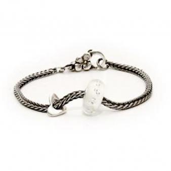 """TROLLBEADS Armband """"Diamantenbead"""" 19 cm  W22016"""