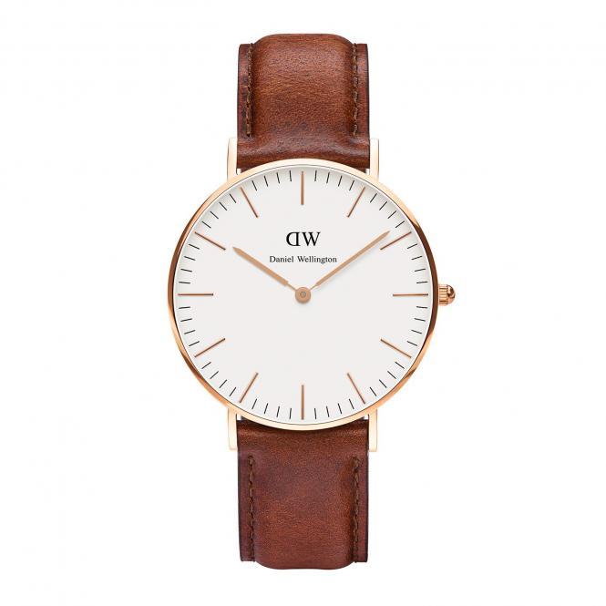 """DANIEL WELLINGTON Armbanduhr """"Classic St. Mawes Lady"""" 36mm DW00100035"""